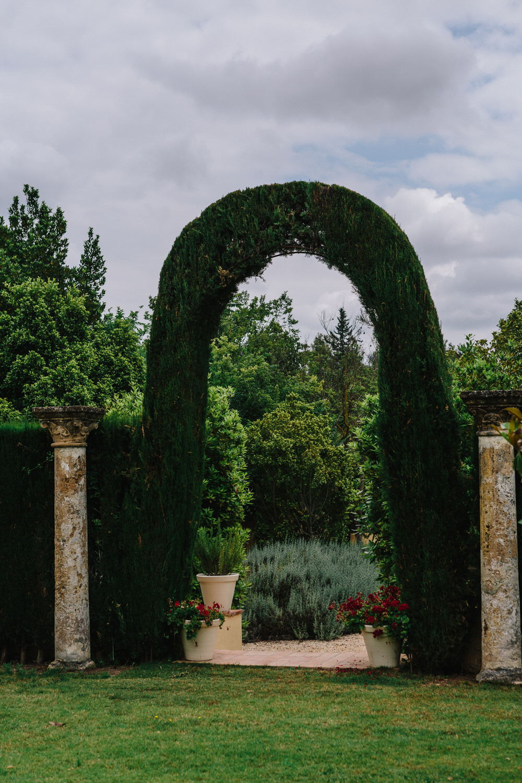 espacio para eventos con jardin Sevilla